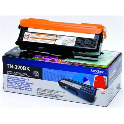 Värikasetti Brother TN-320BK musta