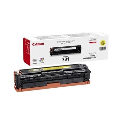 Värikasetti Laser Canon 731 Y LBP7100/MF8230 keltainen