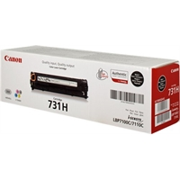 Värikasetti Laser Canon 731H BK riitto LBP7100/MF8230 musta