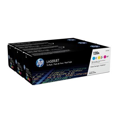 Värikasetti HP 128A värilajitelma multi pack/3