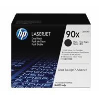 Värikasetti HP 90X CE390XD musta dual pack/2