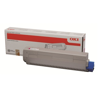 Laser OKI C822 C831 841 punainen