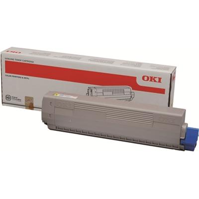 Laser OKI C822 C831 841 keltainen
