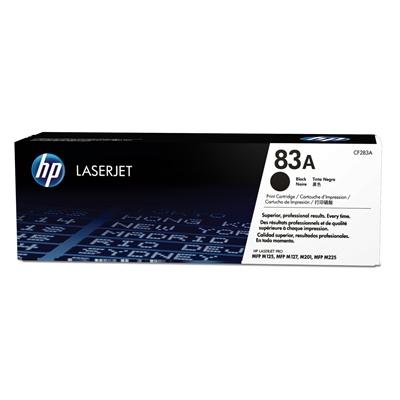 Värikasetti Laser HP 83A CF283A musta Pro M125 M127