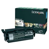 Värikasetti laser Lexmark X654 X654X31E musta