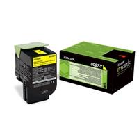 Laser Lexmark 802SY  CX310/410 keltainen