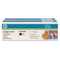 Värikasetti laser HP CC530A CM2320MFP musta/2 kpl