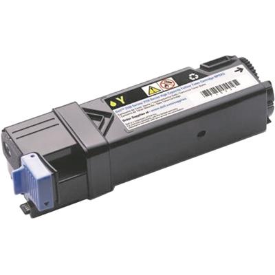 Värikasetti laser Dell 2150/2155 keltainen 2500 sivua