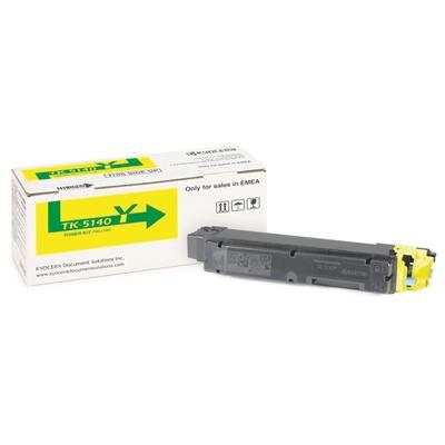 Värikasetti laser Kyocera M6030 TK-5140Y keltainen
