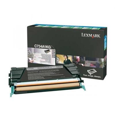 Värikasetti laser Lexmark C734 musta