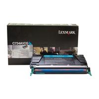 Värikasetti laser Lexmark C734 sininen