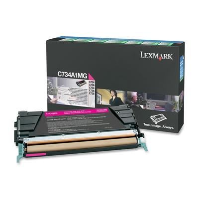 Värikasetti laser Lexmark C734 punainen
