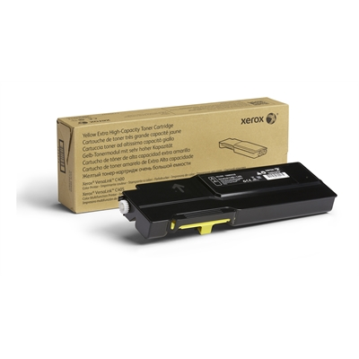 Värikasetti laser Xerox VersaLink C400/C405 extra high kelt