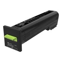 Värikasetti laser Lexmark 72K2XKE CS820 musta