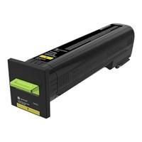 Värikasetti laser Lexmark 72K2XYE CS820 keltainen