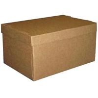 Konttoripaperin arkistointilaatikko ja kansi 305X215X165mm