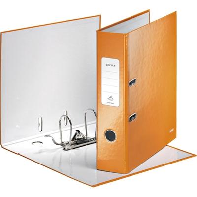Kartonkimappi Leitz WOW A4 80 mm oranssi