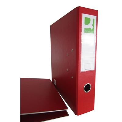 Mappi Q-Connect+ 750 A4 metallivahvike punainen