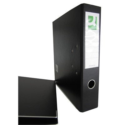 Mappi Q-Connect+ 700 A4 metallivahvike musta