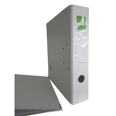 Mappi Q-Connect+ 750 A4 metallivahvike valkoinen