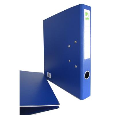 Mappi Q-Connect+ 500 A4 metallivahvike sininen