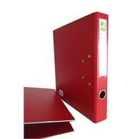 Mappi Q-Connect+ 500 A4 metallivahvike punainen