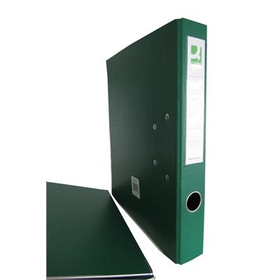 Mappi Q-Connect+ 500 A4 metallivahvike vihreä
