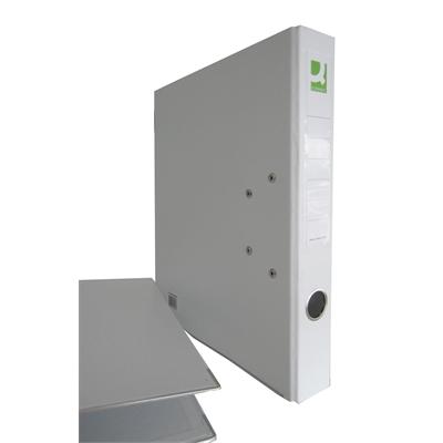 Mappi Q-Connect+ 500 A4 metallivahvike valkoinen