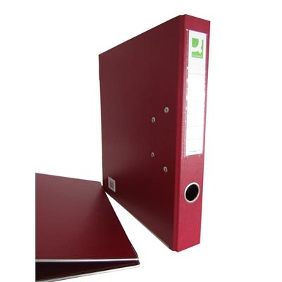 Mappi Q-Connect+ 500 A4 metallivahvike viininpunainen