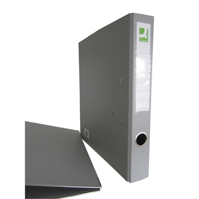 Mappi Q-Connect+ 500 A4 metallivahvike harmaa
