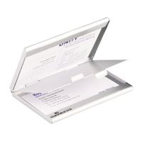 Käyntikorttikotelo Durable 2-osainen alumiini