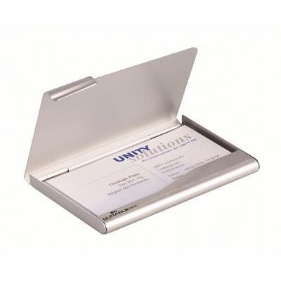 Käyntikorttikotelo Durable 1-os alumiini