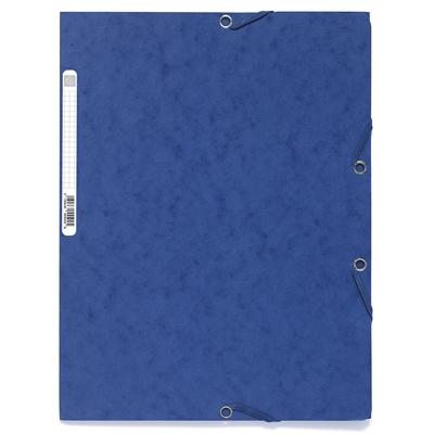 Kulmalukkosalkku A4 kartonki 400g sininen