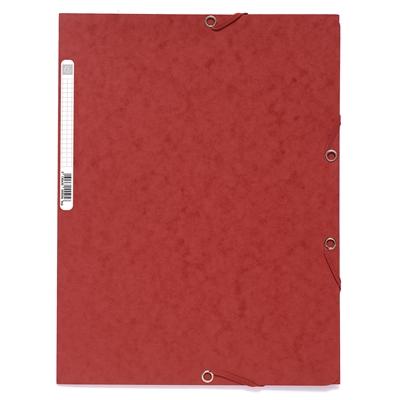 Kulmalukkosalkku A4  kartonki 400g punainen