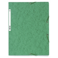 Kulmalukkosalkku A4 kartonki 400g vihreä