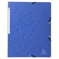 Kulmalukkokansio A4 kartonki 400g sininen