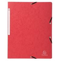 Kulmalukkokansio A4 kartonki 400g punainen