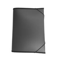 Kodinkansio A4/12-osainen PP musta
