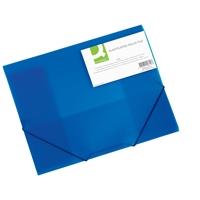 Kulmalukkosalkku Q-Connect PP frost sininen