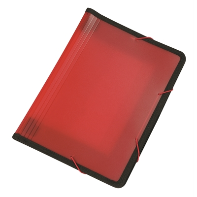 Asiakirjasalkku Q-Connect PP frost punainen