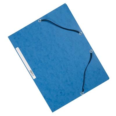Kulmalukkosalkku Q-Connect A4 kartonki sininen