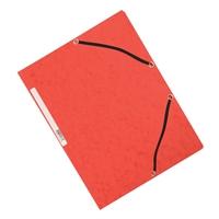 Kulmalukkosalkku Q-Connect A4 kartonki punainen