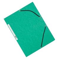 Kulmalukkosalkku Q-Connect A4 kartonki vihreä