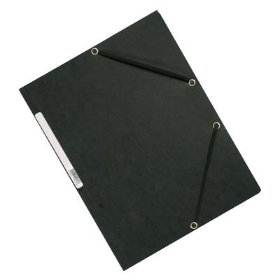 Kulmalukkosalkku Q-Connect A4 kartonki musta