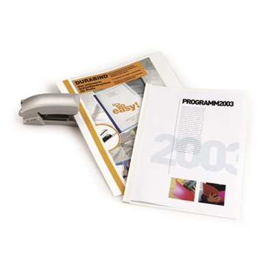 Esitekansio Durabind 2250 A4 PVC valkoinen