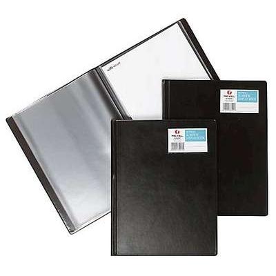 Kokoojakansio Slimwiew A4 12-taskua musta