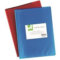 Kokoojakansio Q-Connect A4 20-taskua PP frost punainen