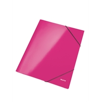 Kulmalukkosalkku Leitz WOW A4 pinkki