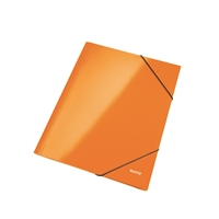 Kulmalukkosalkku Leitz WOW A4 oranssi