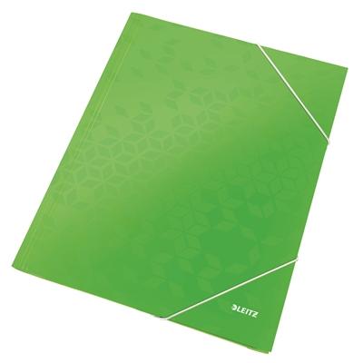 Kulmalukkosalkku Leitz WOW A4 vihreä